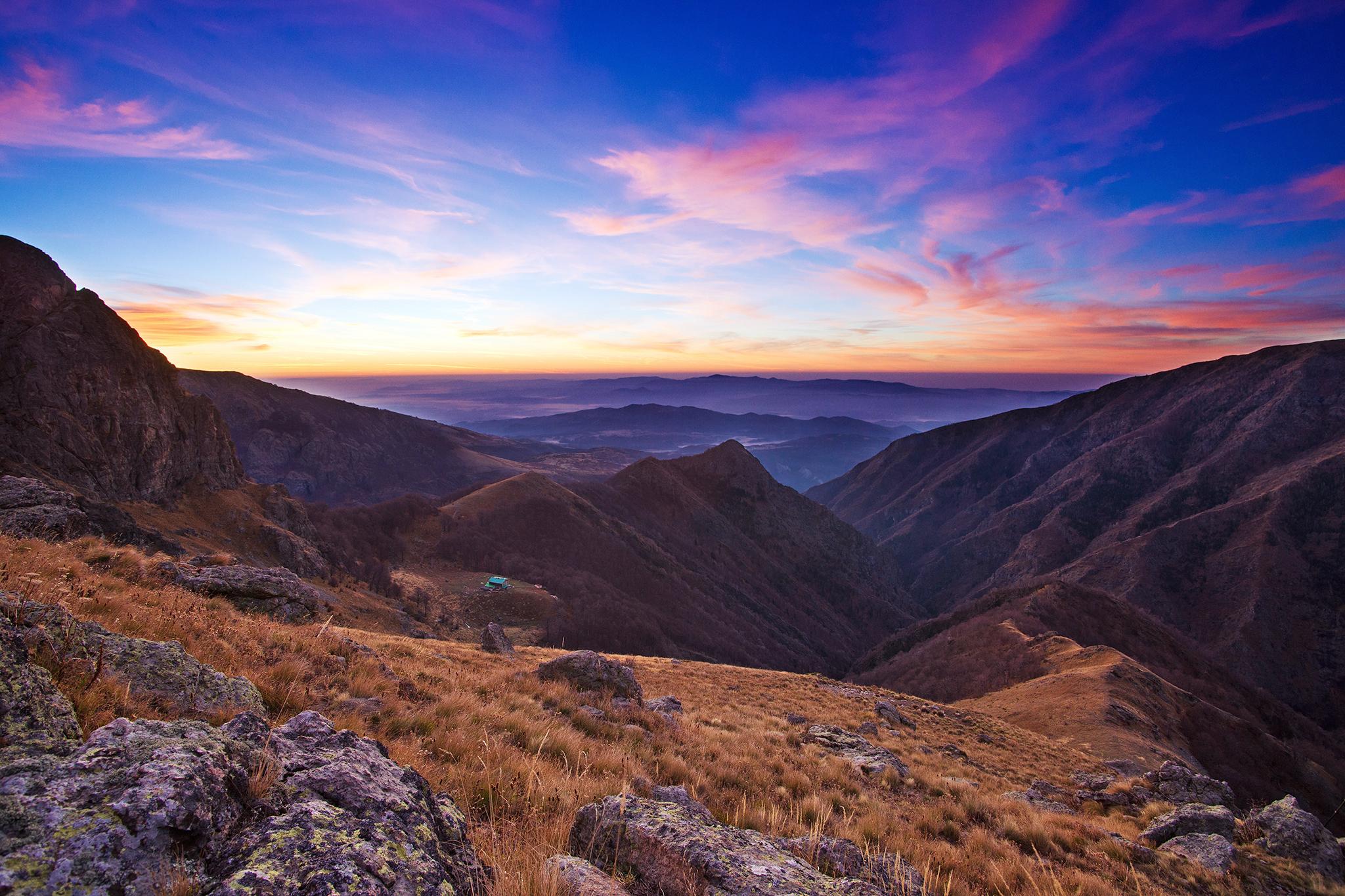 болгария, балканы, горы