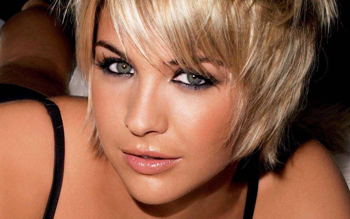 Фото бесплатно глаза, блондинка, губы - на рабочий стол
