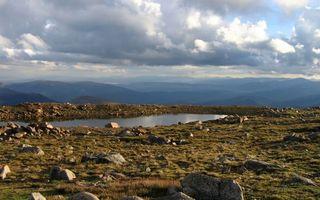 Фото бесплатно горы, вода, озеро