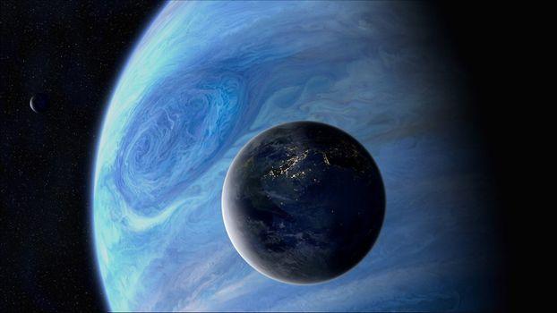 Бесплатные фото новая,земля,вода,растительность,кислород,жизнь,спутник,газовый,гигант,новые миры,космос