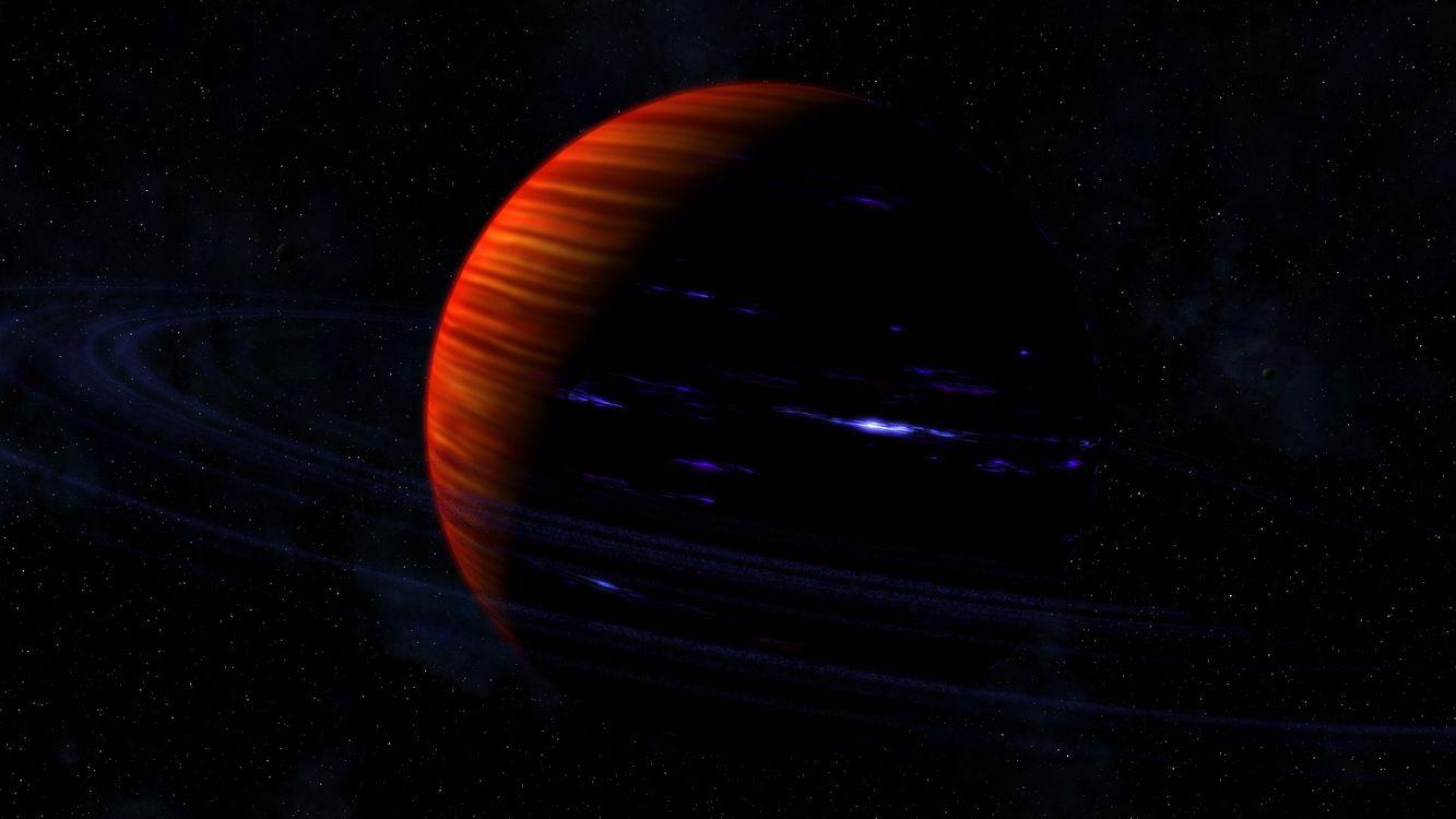 Обои планета, яркая, темно, звезды, галактика, свет, космос на телефон | картинки космос