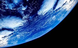 Фото бесплатно земля, вакуум, облака