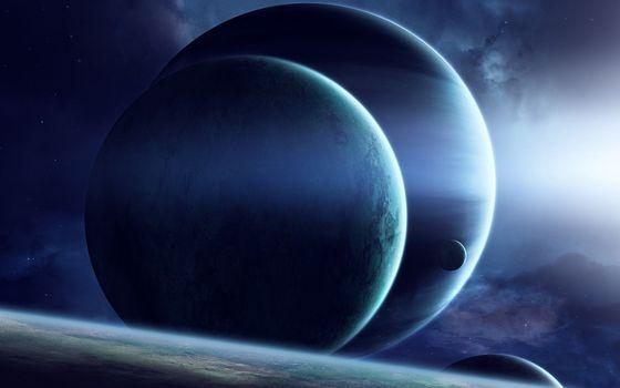 Бесплатные фото планеты,спутники,космос,неизвестные,миры,солнце,звезды,галактика,космос