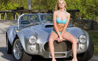 Photo free retro, car, air intake