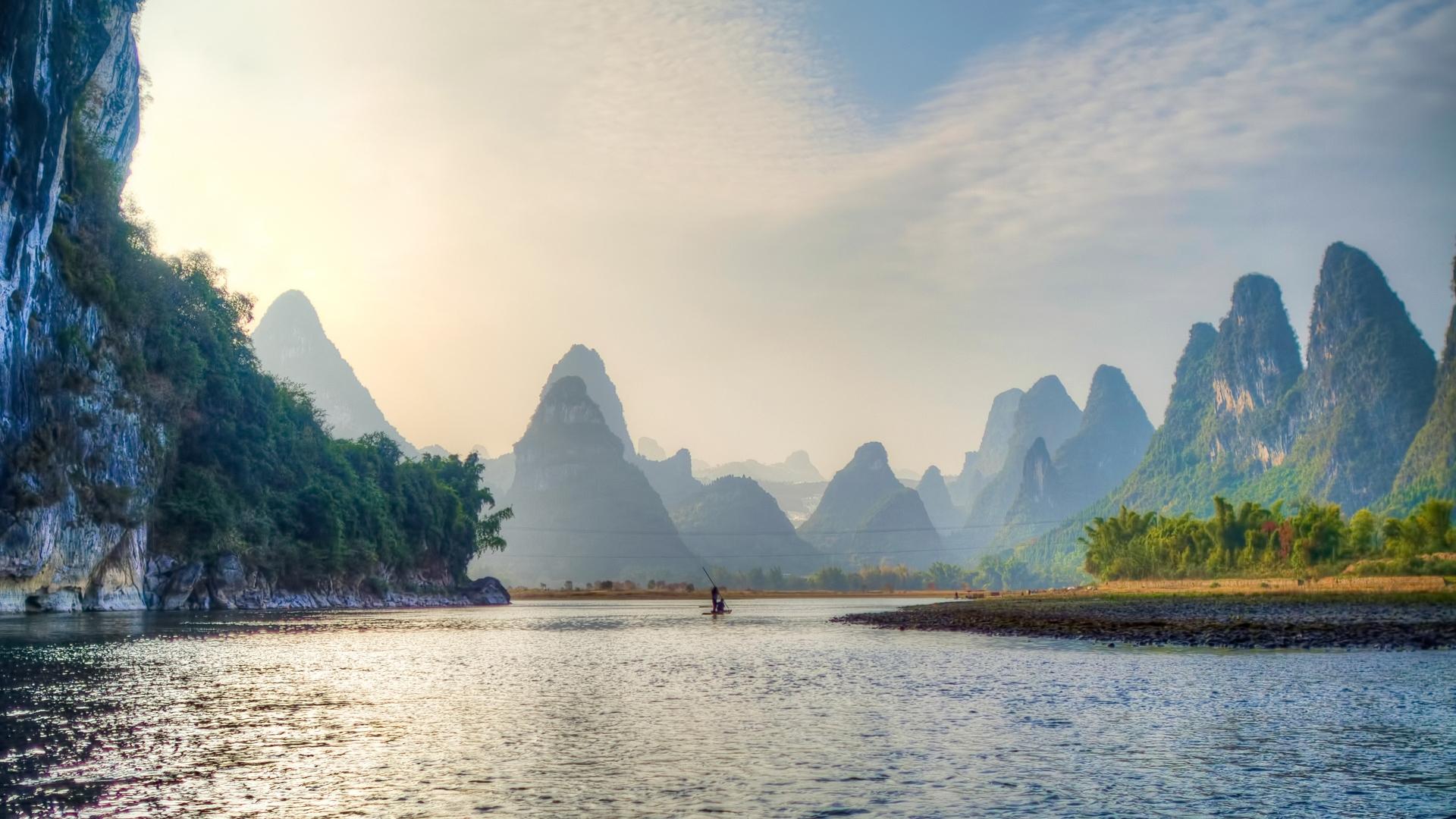 тайланд, река, лодка