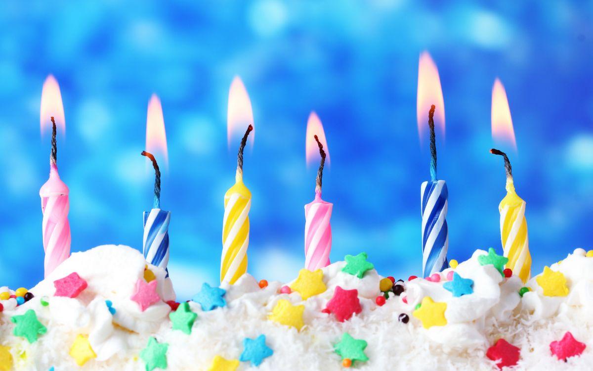 Фото бесплатно торт, крем, звездочки - на рабочий стол