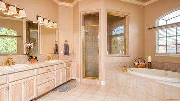 Photo free bath, window, door