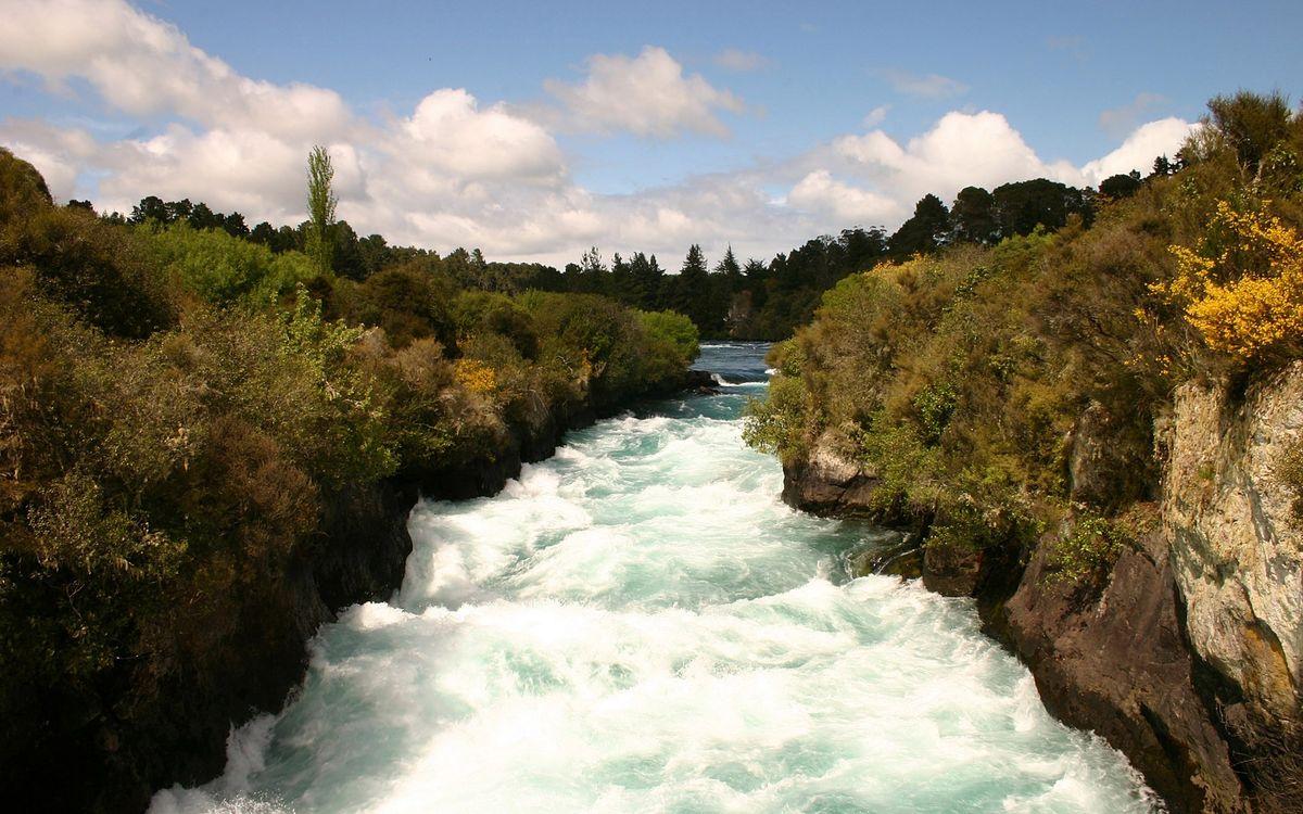Фото бесплатно вода, река, озеро, деревья, камни, трава, лес, природа, природа