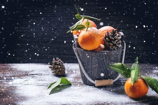 Красивая заставка мандарины, продукты