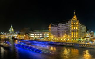 Бесплатные фото Москва, Россия, ночь