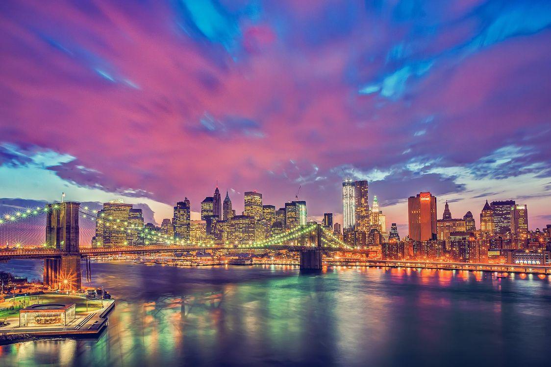 Обои Нью-Йорк, США, город картинки на телефон