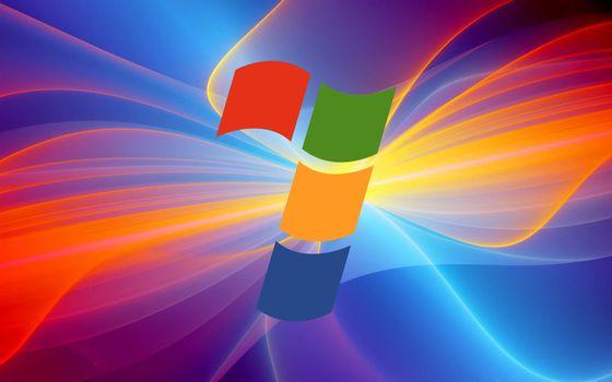Фото бесплатно заставка, виндовс 7, цветная