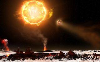 Бесплатные фото звезда,солнце,планеты,жар,вулканы,извержения,высокие