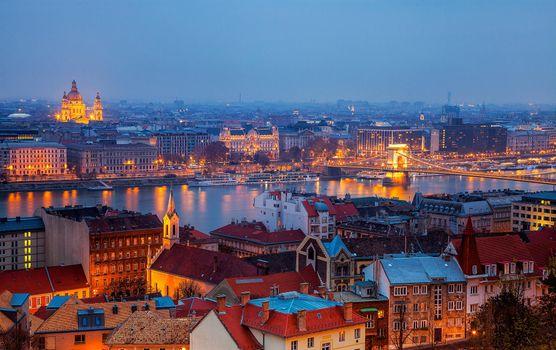 Фото бесплатно Базилика башни Святого Стефана, Будапешт, Венгрия