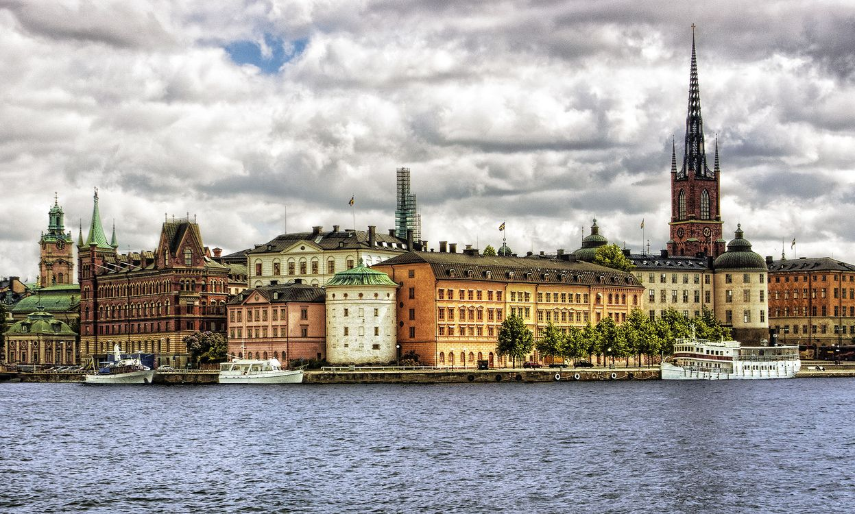 Free photo Stockholm, Sweden, city - to desktop