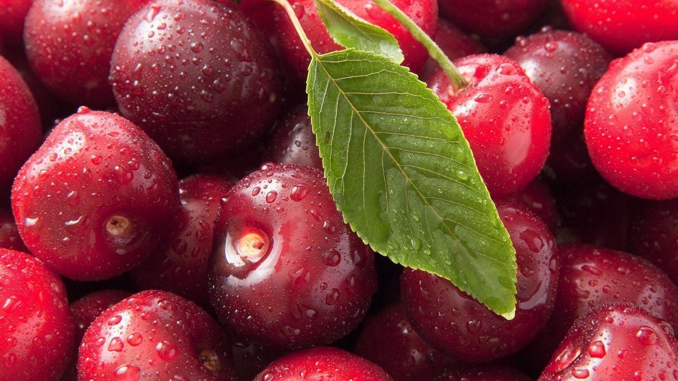 Фото бесплатно ягода, вишня, спелая - на рабочий стол