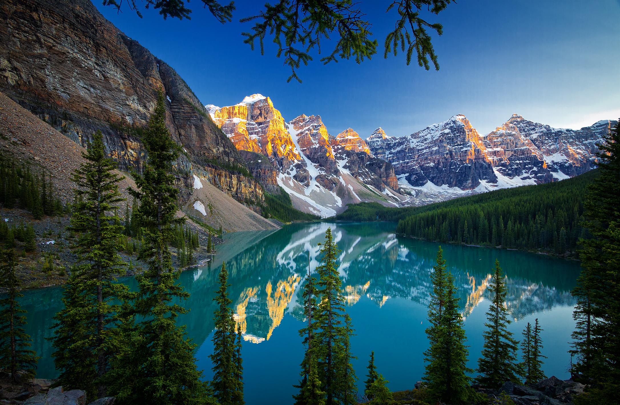 Moraine Lake, Banff National Park, озеро