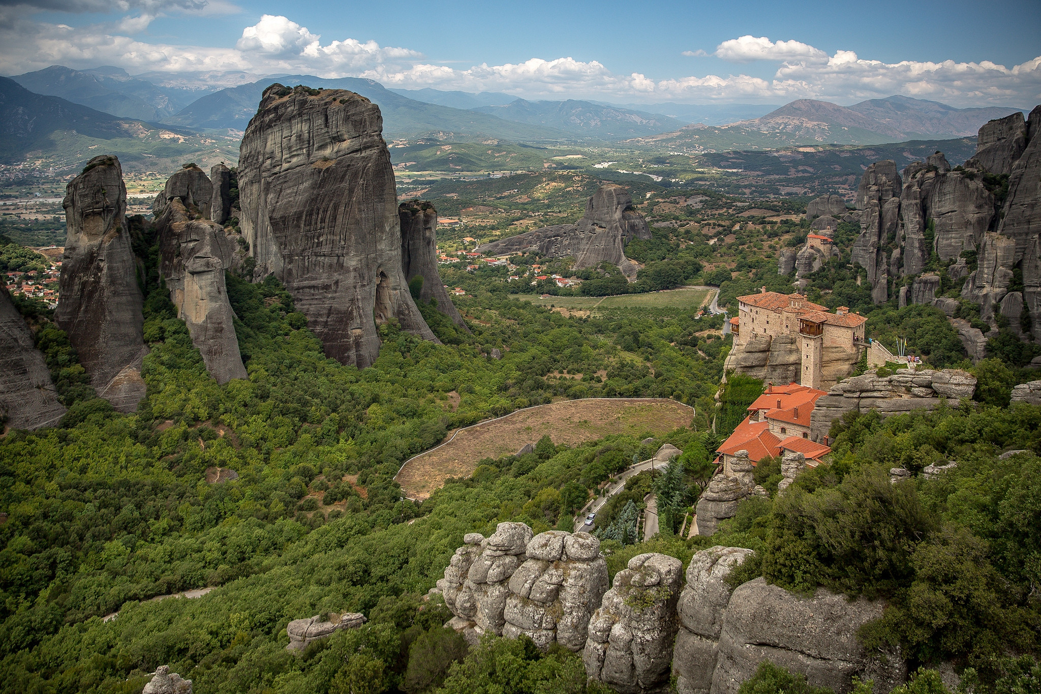 The Monastery of RousanouSt Barbara, Meteora, Greece