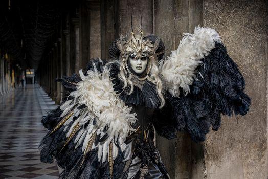 Фото бесплатно маски, венецианский костюм, карнавал
