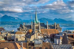 Фото бесплатно Lausanne, Лозанна, Швейцария
