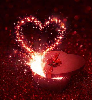 Заставка с днём всех влюблённых, день святого валентина на телефон