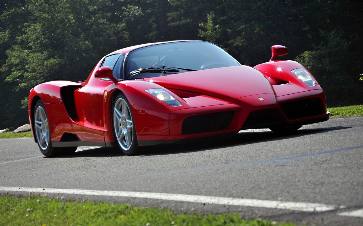 Фото бесплатно спортивный автомобиль, воздухозаборники, красный - на рабочий стол