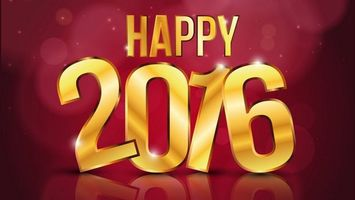 Бесплатные фото happy,2016,с новым годом,надпись