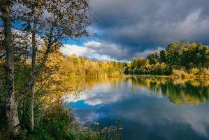 Фото бесплатно Истон Пруды - Истон, Штат Вашингтон, осень