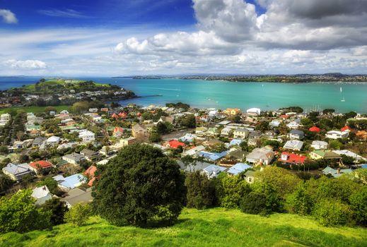 Заставки Окленд, Новая Зеландия, город