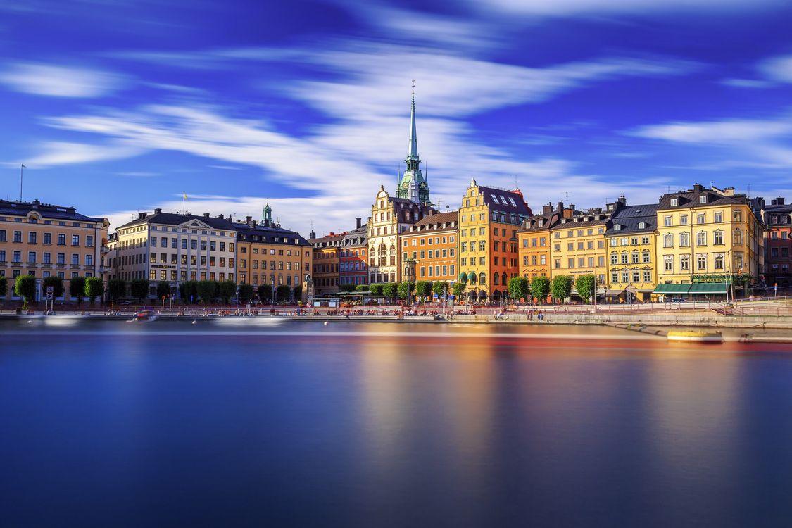 Фото бесплатно Стокгольм, Швеция, город - на рабочий стол