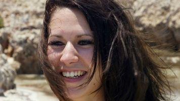 Фото бесплатно Эми, модель, пляж