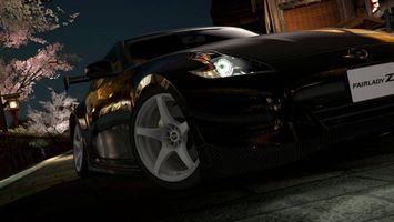 Бесплатные фото Nissan 350Z, черный