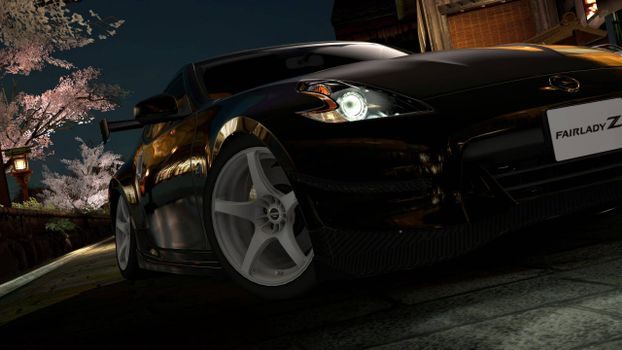 Фото бесплатно Nissan 350Z, черный