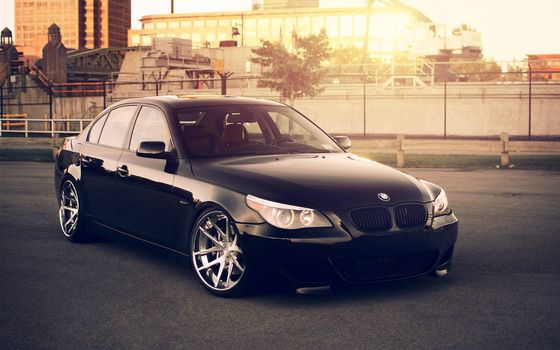 Photo free bmw, black, lights