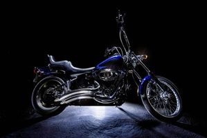 Фото бесплатно Harley-Davidson, Харли-Дэвидсон, мотоцикл