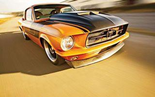 Обои форд, мустанг, шелби, джи ти 500, дорога, скорость