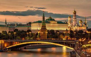 Фото бесплатно Красная площадь, Москва, Московский Кремль