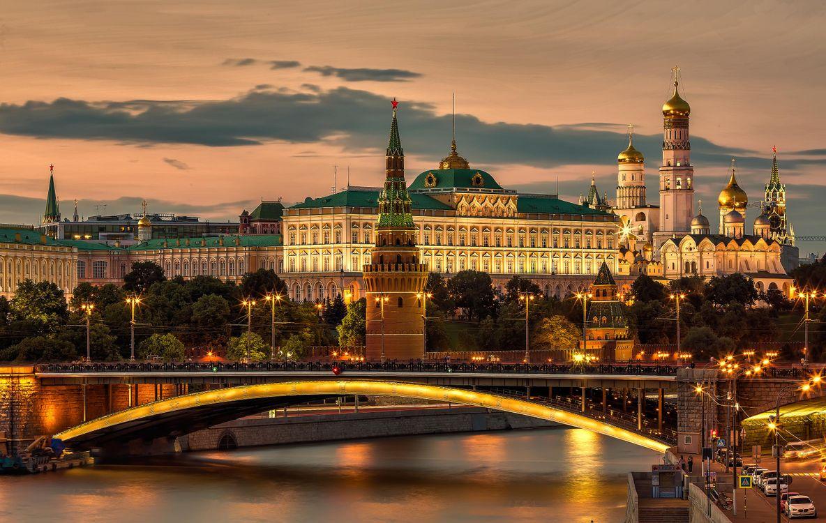 Фото бесплатно Красная площадь, Москва, Московский Кремль - на рабочий стол