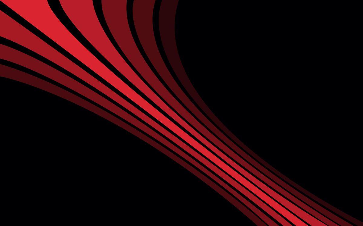 Фото бесплатно полосы, линии, красные, фон черный, заставка - на рабочий стол