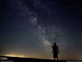 Бесплатные фото звезды,небо,человек,смотрит,млечный путь