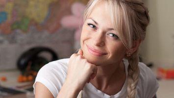 Бесплатные фото актриса,фото,коса,лицо,роль,кино,универ
