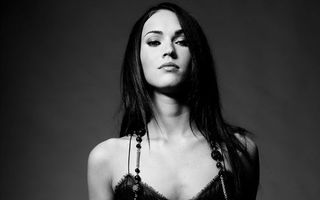 Photo free megan fox, black and white, beautiful