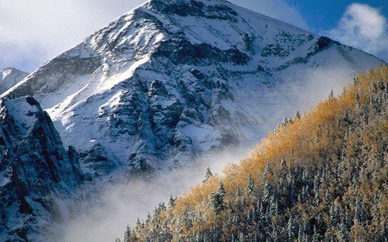 Бесплатные фото горы,снег,высота,скалы,камни,небо,облака,склон,природа