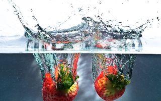 Бесплатные фото клубника,ягода,сладкая,спелая,красная,урожай,вода