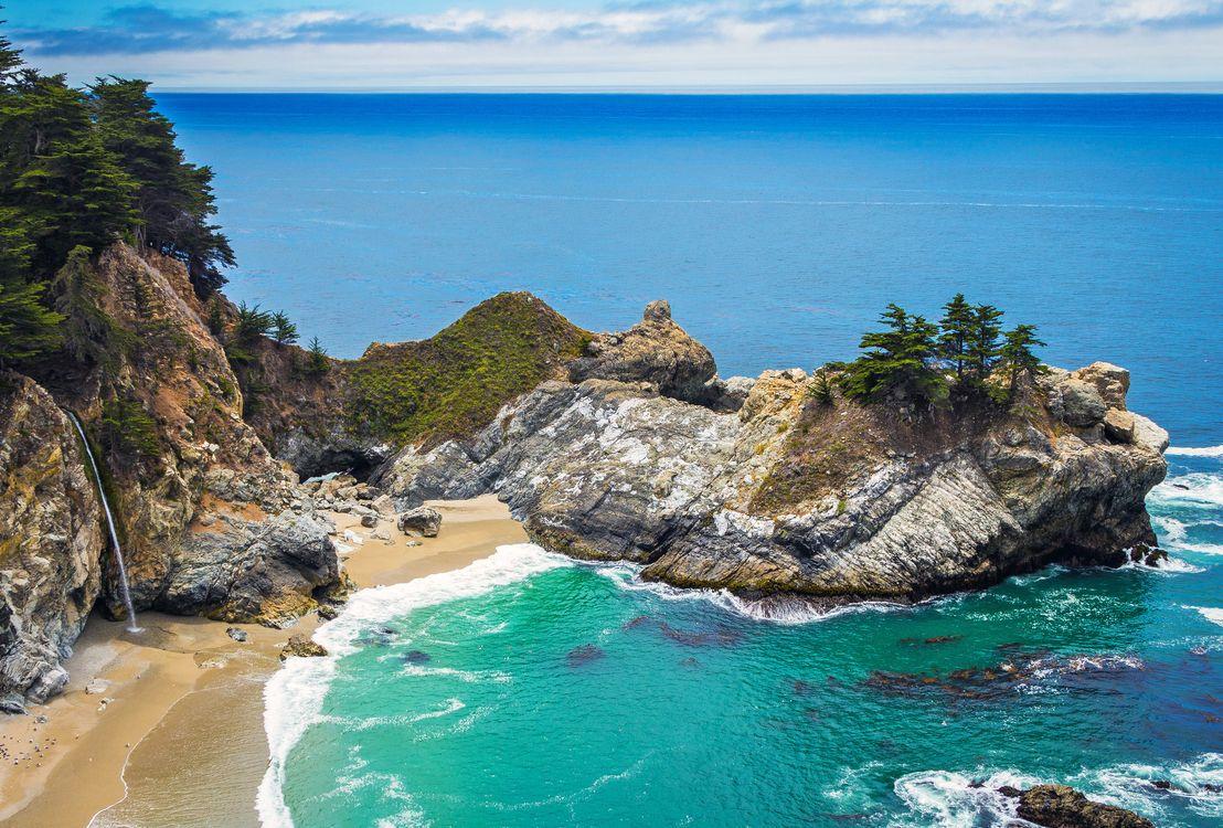 Фото бесплатно пейзаж, море, пляж, пейзажи, пейзажи