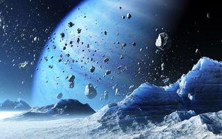 Бесплатные фото планета,фантастика,фэнтэзи,астероиды,метеориты,туман,газ