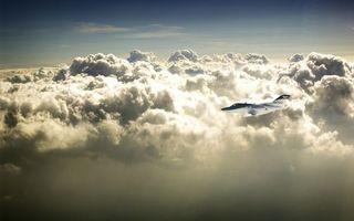 Фото бесплатно самолет, частный, полет