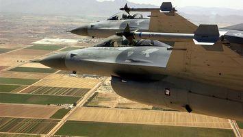 Фото бесплатно самолеты, военный, ракеты