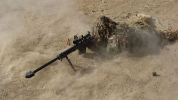 Фото бесплатно снайпер, выстрел, орудие