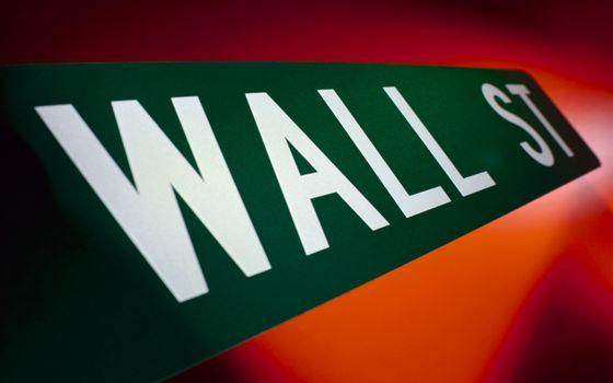 уолл-стрит, wall, st, табличка, зеленая